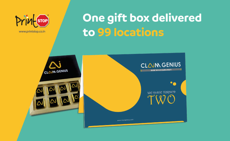 How Did Claim Genius Deliver Customised Gifts to its 99 Employees?