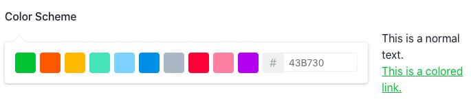 superblog theme colors