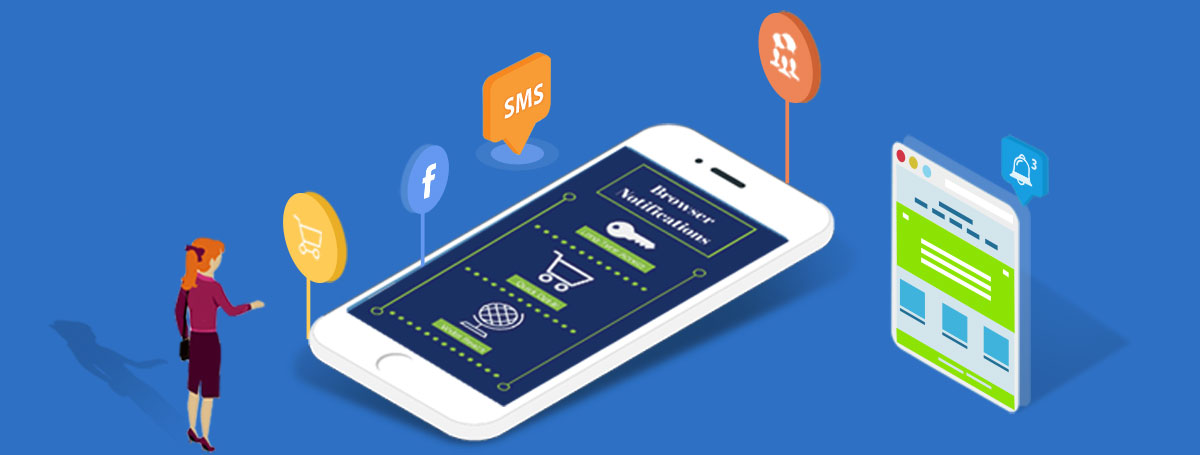 Reach your visitors on mobile without an app